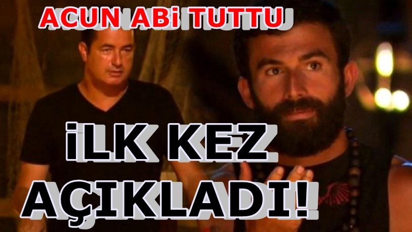 Turabi'den çok konuşulacak Survivor itirafı: Acun Ilıcalı...