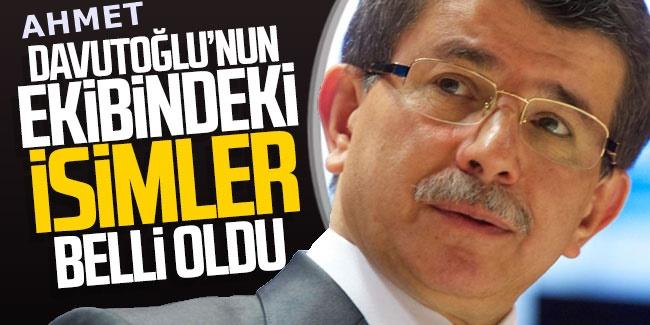 Davutoğlu'nun ekibinde CHP'den şaşırtan isim