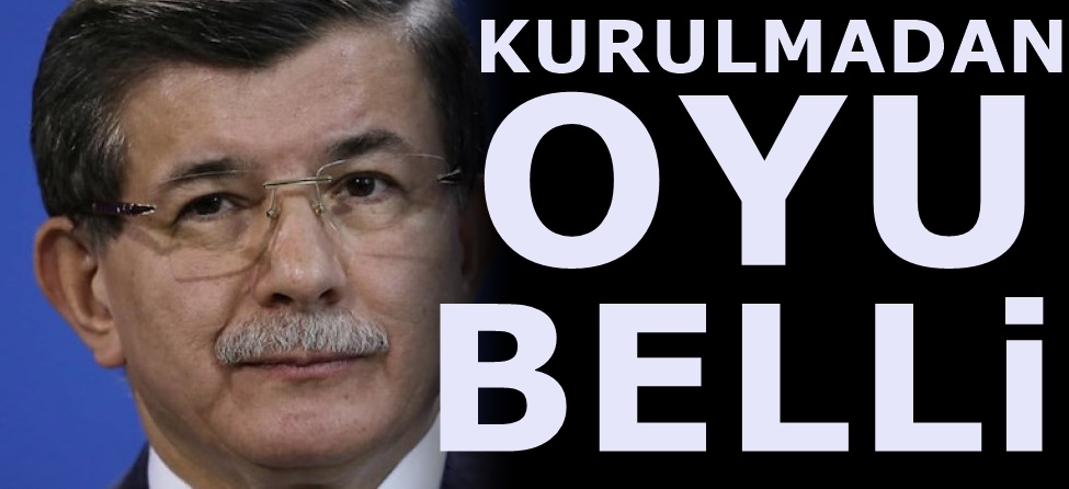 Davutoğlu'nun partisiyle ilgili 4 anketten sonuç