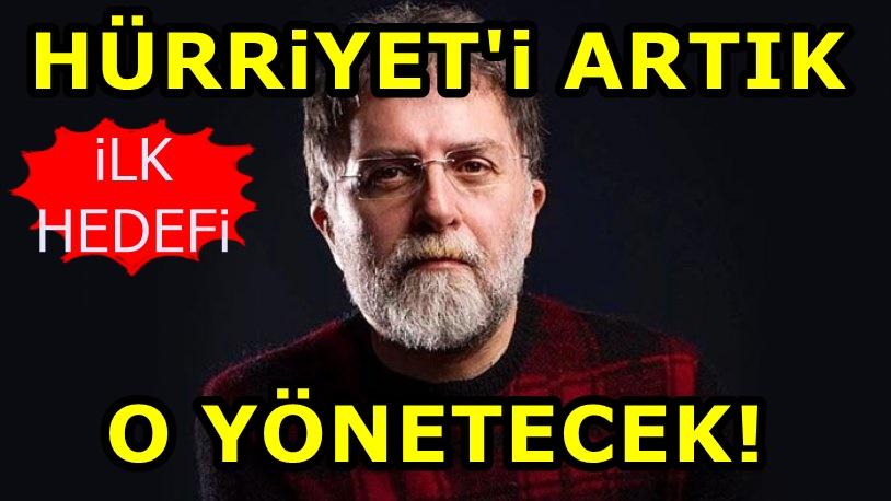 Hürriyet'in yeni Genel Yayın Yönetmeni Ahmet Hakan'dan ilk açıklama