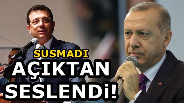 Ekrem İmamoğlu'ndan Erdoğan'a flaş Özenti cevabı