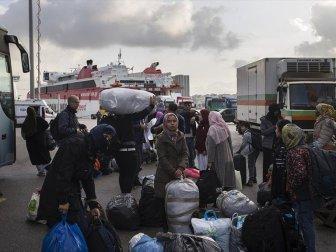 Düzensiz Göçmenlerin Ana Karaya Taşınması Devam Ediyor