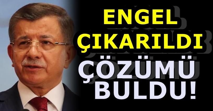 Ahmet Davutoğlu'nun yeni adresi belli oldu