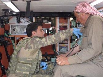 Tel Abyad ve Rasulayn'da Sağlık Taraması Yapılıyor