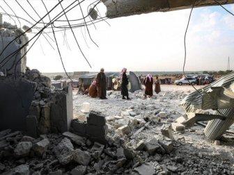 Rusya'dan İdlib'de Çadır Kampına Hava Saldırısı