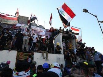 Bağdat'taki Gösterilere Müdahale: 15 Yaralı