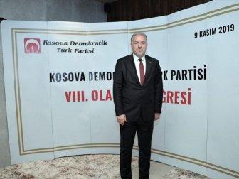 Kosova Demokratik Türk Partisinin Genel Başkanı Fikrim Damka Oldu
