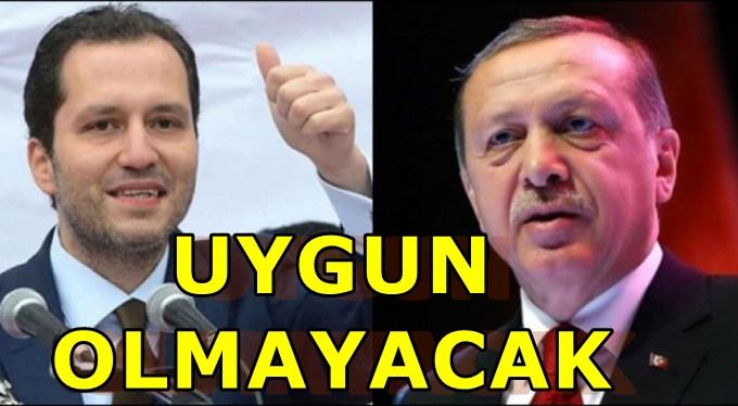 Fatih Erbakan'dan Erdoğan'a çağrı