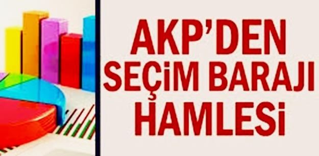 AKP'den yeni hazırlık! Baraj sıfırlanabilir