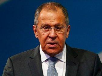 Lavrov: 'ABD Petrol İçin Suriye'yi Bölmek İstiyor'