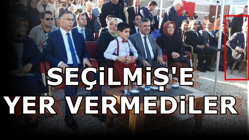 Protokol skandalı... CHP'li başkana yer vermediler