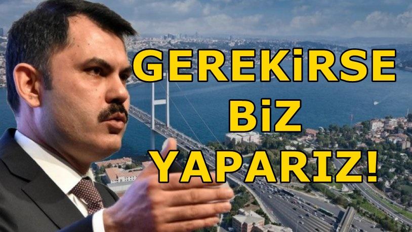 Bakandan İBB Başkanı Ekrem İmamoğlu'na rest!