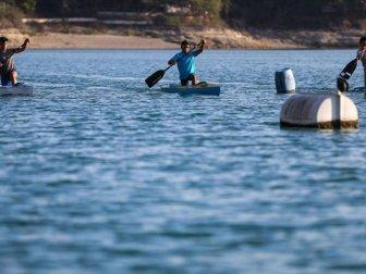 Seyhan Baraj Gölü Durgunsu Sporunda Cazibe Merkezi Oldu