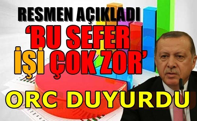AKP'ye yakın anket şirketinden kötü haber!