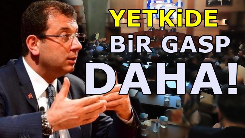 AKP'li ismin kullandığı yetki İmamoğlu'na verilmedi