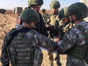 Fırat'ın Doğusunda 8'inci Ortak Kara Devriyesi Gerçekleştirildi