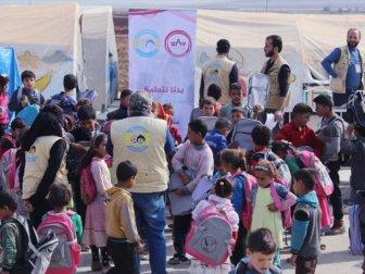 Suriyeli 2 Bin Çocuğa Kırtasiye Yardımı Yapıldı