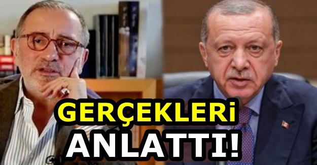 Fatih Altaylı tarafını belli etti: Erdoğan gibi düşünüyordum ama...
