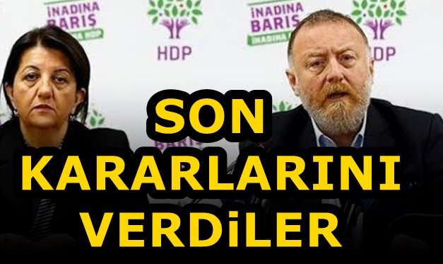 HDP Erken Seçim İstedi