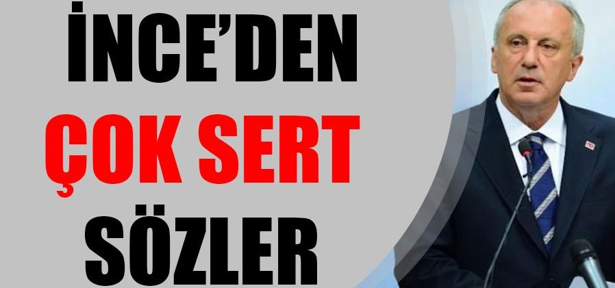 CHP'yi karıştıran iddiaya Muharrem İnce ateş püskürdü!