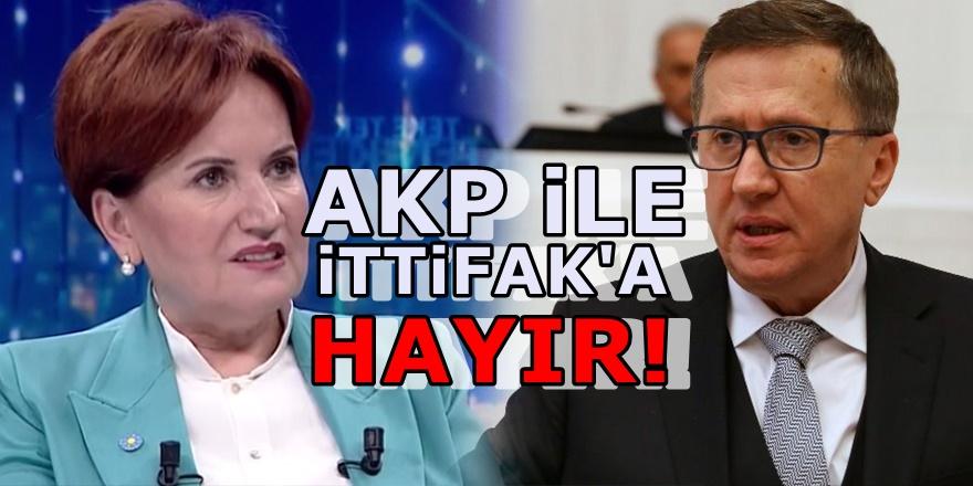 İYİ Parti'den Lütfü Türkkan'a çok sert tepki! Yanlış ve kabul edilemez