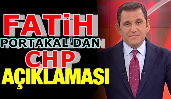 Fatih Portakal CHP'yi sarsan operasyonu yorumladı