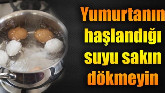 Kaynamış yumurta suyunun inanılmaz faydası