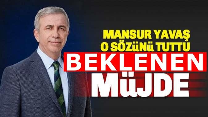 Mansur Yavaş'tan Ankara'da atanamayan öğretmenlere müjde