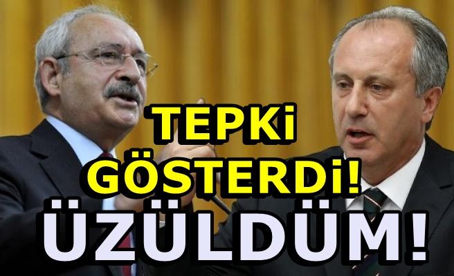 Kılıçdaroğlu Muharrem İnce'yi çileden çıkardı!