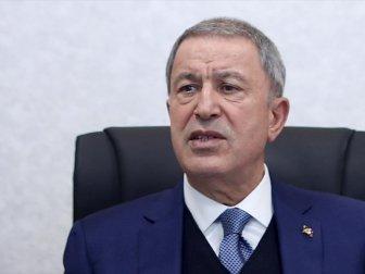 Bakan Akar: 'Libya Mutabakatları Diğer Ülkelere Karşı Bir Tehdit Değildir'