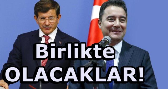 Davutoğlu ve Babacan birleşecek! Şok eden açıklama