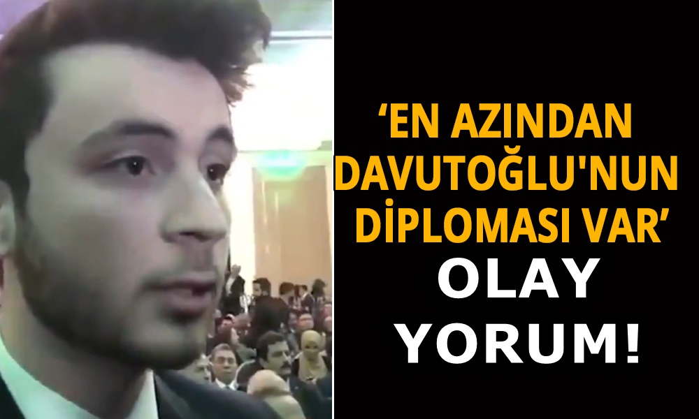 Gelecek Partisi'nin genç üyesinden AKP'yi kızdıracak diploma göndermesi