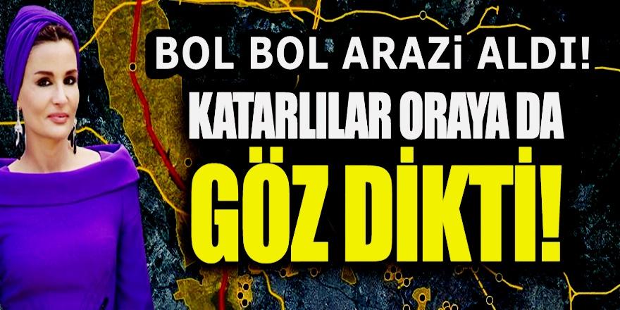 Katar Emiri'nin annesi Çok tartışılan Kanal İstanbul güzergahında arazi toplamış