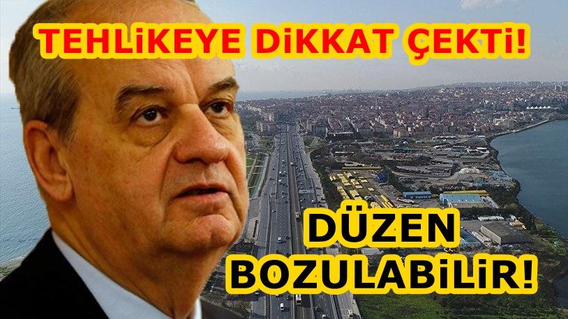 İlker Başbuğ'dan Kanal İstanbul'la ilgili kritik uyarı