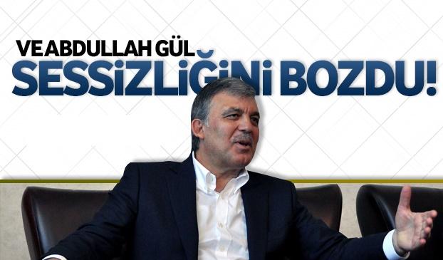 Abdullah Gül sessizliğini bozdu: 'Tayyip Bey'i aradım'