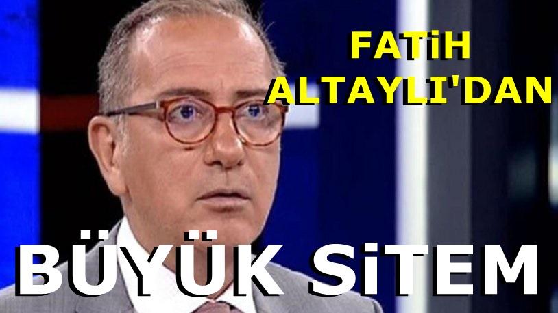 Satışa Şok yorum : Fatih Altaylı: Simit'i çıkardılar, bize soktular
