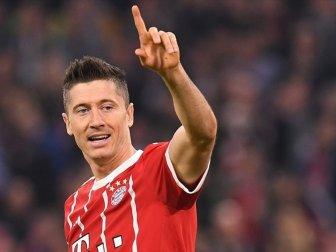 Bundesliga'da 'İlk Yarının En İyi Futbolcusu' Robert Lewandowski