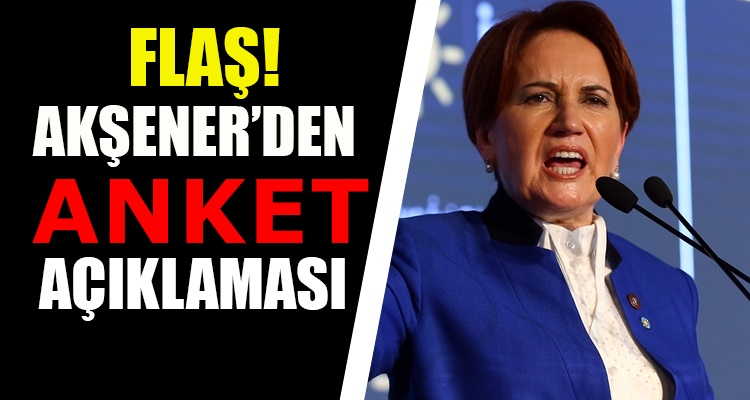 Meral Akşener'in şok eden AKP anketi iddiası!
