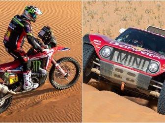 2020 Dakar Rallisi'nin 7. Etabını Otomobilde Sainz, Motosiklette Barreda Birinci Bitirdi