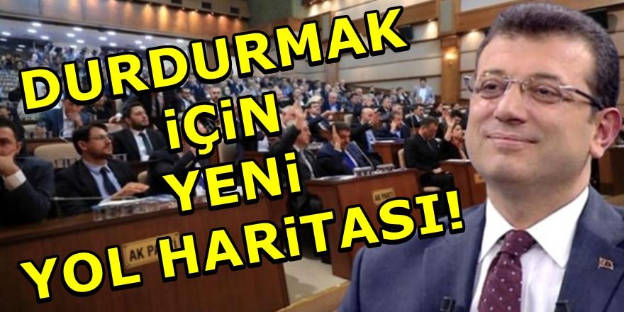 İmamoğlu'na karşı AKP grubu İBB'yi durduracak!