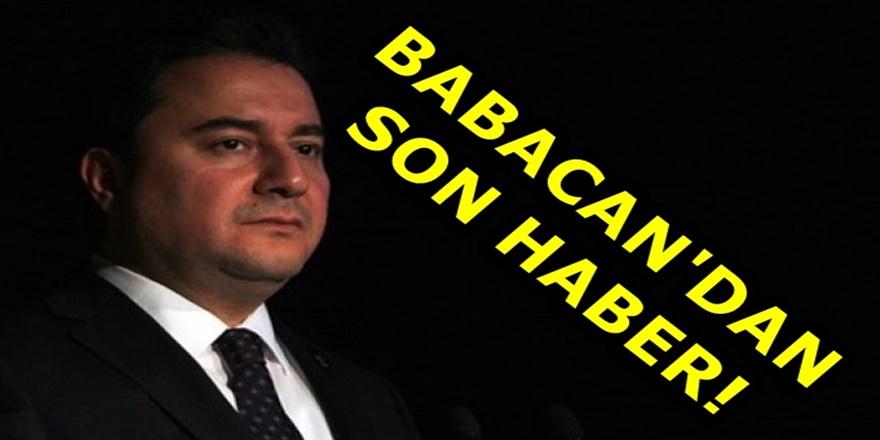 Ali Babacan'ın partisinin kuruluş tarihi yine ertelendi