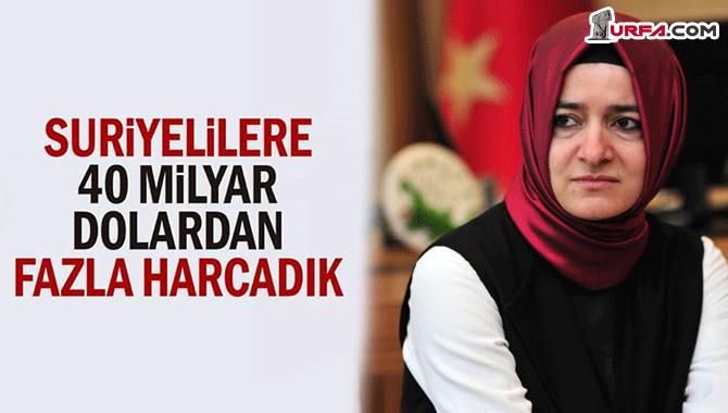 AKP'li Kaya duyurdu: Suriyeli Kardeşlerimize 40 Milyar dolar yardım yaptık
