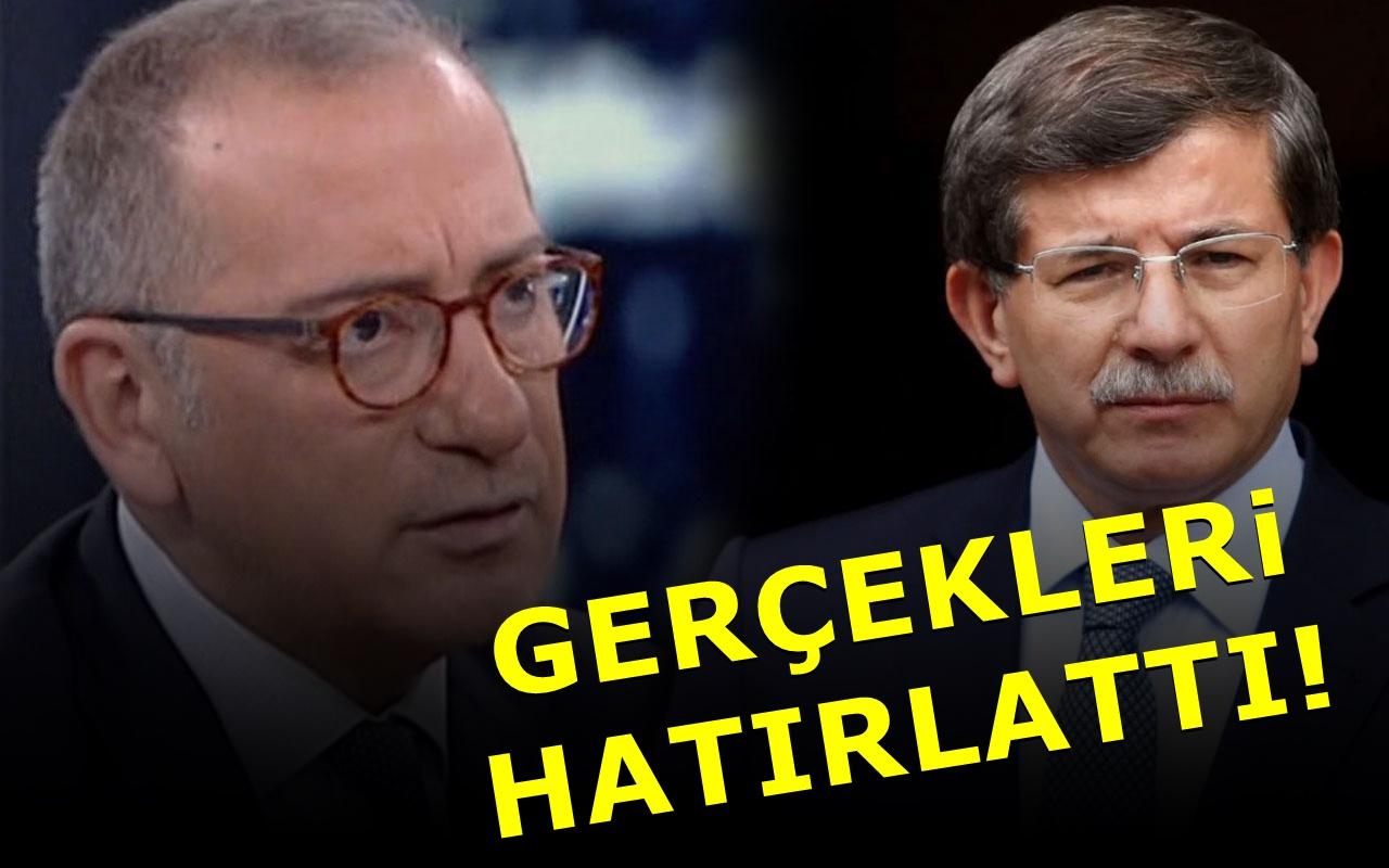 Fatih Altaylı Ahmet Davutoğlu'na seslendi: Beni üzmeyin