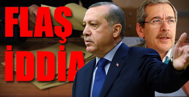 Abdüllatif Şener'den şok seçim olmayabilir iddiası