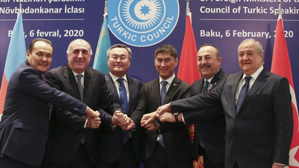 Türk Konseyi Dışişleri Bakanları Bakü'de Toplandı