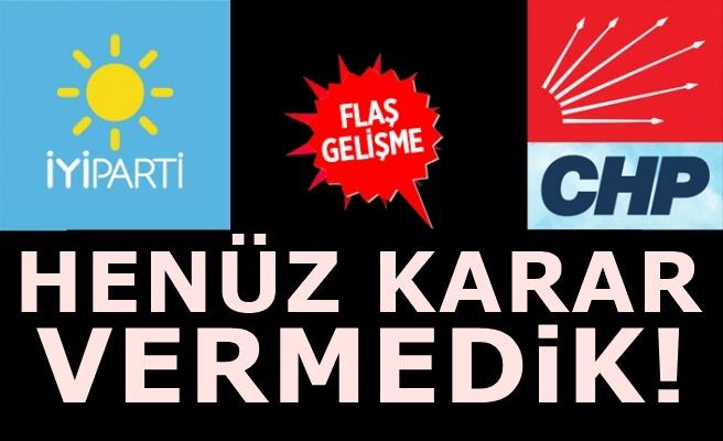 İyi Parti'den CHP'nin boykot kararına şaşırtan çıkış!