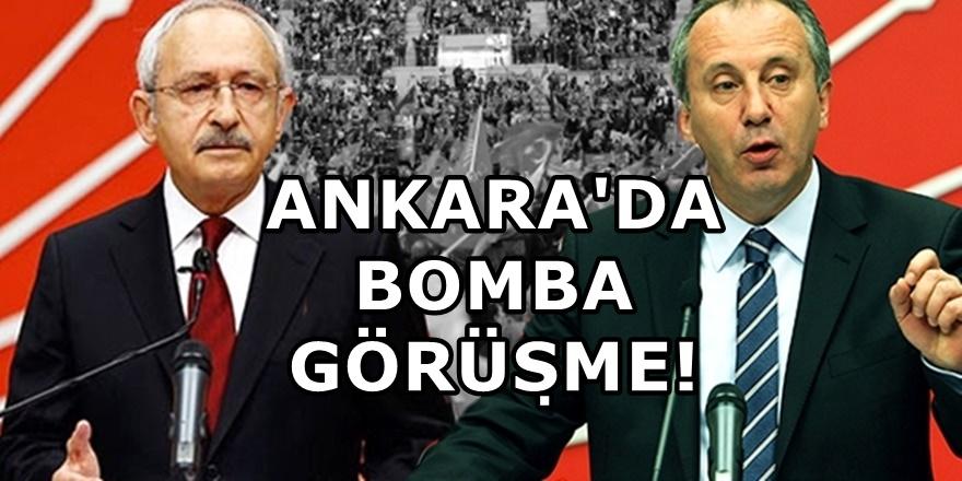 CHP'de sıcak gelişme! Muharrem İnce, Kılıçdaroğlu ile görüşecek