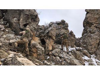 'Kapan-6 Müşterek Operasyonu'nda 10 Kış Sığınağı İmha Edildi