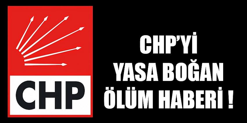 CHP'nin acı kaybı