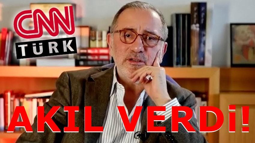 Fatih Altaylı CNN Türk'ü boşuna uğraşma diyerek uyardı